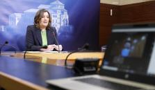 La consejera de Economía, Empresas y Empleo, Patricia Franco comparece en comisión, en las Cortes de Castilla-La Mancha