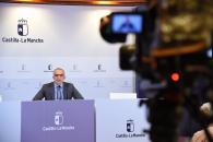 El director general de Salud Pública, Juan Camacho, informa sobre la incidencia del contagio por coronavirus en Castilla-La Mancha