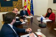 Reunión con la presidenta de ADIF