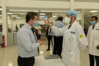 Visita a la planta de la empresa MAHLE NAGARES S.A.