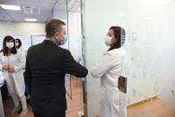 Visita a las instalaciones de Laboratorios Válquer (Presidente)