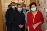 El presidente García-Page se desplaza a Hellín para conocer la situación del hospital (II)