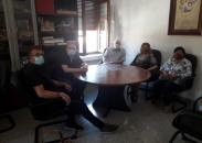 Visita de Ruiz Santos a instalaciones en Riópar