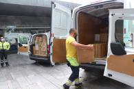 El Gobierno de Castilla-La Mancha mantiene la distribución de equipos de protección para los profesionales sanitarios con un nuevo envío de cercano a los 430.000 artículos