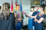 Reunión de trabajo por videoconferencia con la Asociación de Regiones Europeas Vitícolas (AREV)