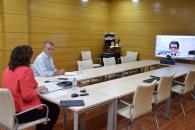 El Gobierno de Castilla-La Mancha traslada al sector de la economía social sus medidas de apoyo para la recuperación y recoge propuestas para la capitalidad europea de Toledo