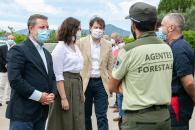 Firma de protocolos de colaboración con Madrid y Castilla Y León en prevención de incendios y emergencias