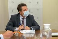 Reunión con los gerentes de los cuatro hospitales de Albacete