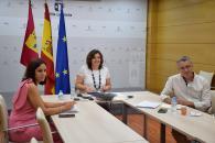El Gobierno de Castilla-La Mancha y el Ayuntamiento de Sigüenza trabajarán de manera conjunta para potenciar el desarrollo turístico de la localidad