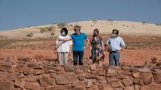 El Gobierno regional impulsa los trabajos para declarar, en la menor brevedad posible, el 'Cerro de las cabezas' como Parque Arqueológico