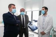 Inauguración del consultorio local de Arenas de San Juan