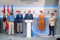 Presentación de la ley de Reserva Estratégica de Material Sanitario de Castilla-La Mancha