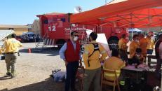 El Gobierno de Castilla-La Mancha pide extremar las precauciones en las visitas al medio natural para evitar los incendios forestales en estos días de riesgo extremo