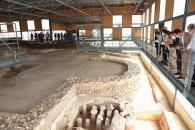 Visita al yacimiento arqueológico de la Villa Romana de Noheda