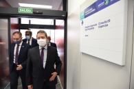 Inauguración del nuevo centro de salud de Elche de la Sierra (I)