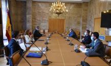 Reunión con la vicepresidenta cuarta y ministra para la Transición Ecológica y el Reto Demográfico