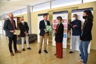 El consejero de Desarrollo Sostenible, José Luis Escudero, asiste al Foro Regional de Reducción de Desperdicio Alimentario.