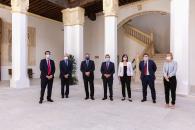 El presidente regional considera determinante el impulso a los proyectos del AVE a Talavera y del cierre de la carretera A-40 entre Toledo y Ocaña