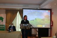 La consejera de Igualdad y portavoz del Gobierno regional, Blanca Fernández, inaugura las jornadas 'Las Mujeres rurales impulsando su futuro' organizadas por la Asociación de Familias y Mujeres del Medio Rural (AFAMMER).