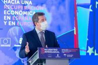 """Clausura del encuentro empresarial """"Hacia una recuperación económica en España y Europa"""""""