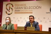 El consejero de Agricultura, Agua y Desarrollo Rural, Francisco Martínez Arroyo, da a conocer a los premiados en las categorías de los XXXI Premios Gran Selección de Castilla-La Mancha