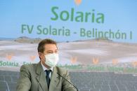 Inauguración de la planta fotovoltaica 'Solaria-Belinchón I