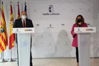 """Castilla-La Mancha y Aragón solicitarán al Gobierno central """"entregas a cuenta"""" del Next Generation UE que permita agilizar su ejecución"""