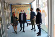 """Visita al CEIP """"Reina Sofía"""" en Albacete capital"""