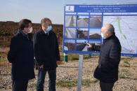 Inauguración del refuerzo del firme de la Carretera CM-3119 (Presidente) (II)