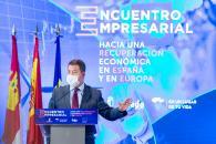 """Clausura del Encuentro Empresarial """"Hacia una recuperación económica en España y Europa"""