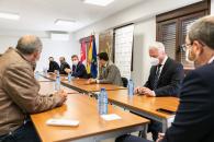 Reunión con la Red Castellano Manchega de Desarrollo Rural