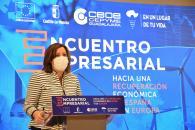 LA CONSEJERA DE ECONOMÍA, EMPRESAS Y EMPLEO Y EL CONSEJERO DE HACIENDA Y ADMINISTRACIONES PÚBLICAS INAUGURAN EL ENCUENTRO EMPRESARIAL 'HACIA UNA RECUPERACIÓN ECONÓMICA EN ESPAÑA Y EN EUROPA' EN GUADALAJARA