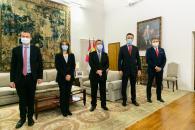 Reunión con los representantes de Telefónica en Castilla-La Mancha