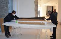 Las obras de la colección Roberto Polo empiezan hoy a ser instaladas en la antigua iglesia de Santa Cruz de Cuenca