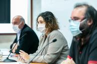 La viceconsejera de Cultura y Deportes, Ana Muñoz, presenta el programa de actividades de esta Consejería en el Festival Internacional del Cine y la Palabra (CIBRA)