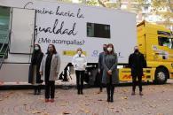 Pilar Callado presenta el proyecto 'Camino hacia la igualdad. ¿Me acompañas?'