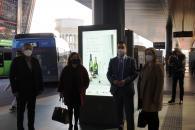 El consejero de Agricultura, Agua y Desarrollo Rural, Francisco Martínez Arroyo, presenta la campaña de promoción de los vinos Cueva