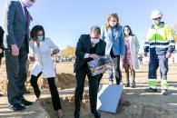 Colocación la primera piedra de un nuevo Instituto de Enseñanza Secundaria Obligatoria en Olías del Rey