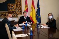García-Page defiende ante la Comisión Europea un marco común de ayudas a la compensación de la actividad económica en áreas despobladas para Cuenca, Guadalajara, Soria y Teruel