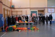 El Gobierno regional felicita al IESO 'La Jara' por el primer premio en el concurso '#Activehacking: Jugamos la calle en las ciudades y pueblos de Castilla-La Mancha'