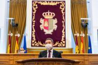 Acto de conmemoración de los 42 años de Constitución Española en las Cortes de Castilla-La Mancha.