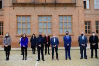 Inauguración de la reforma del CEIP 'Alcalde Galindo' en Chinchilla de Montearagón (Albacete) (Educación)