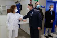 Inauguración del nuevo Consultorio Local en Alameda de la Sagra (Toledo). Presidente