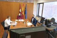 Gobierno regional y Universidad de Alcalá coinciden en señalar que 2021 será un año importante para el desarrollo del nuevo campus en Guadalajara