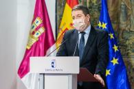 Rueda de prensa del Consejo de Gobierno extraordinario (Presidente)
