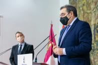 Rueda de prensa del Consejo de Gobierno extraordinario (Sanidad)