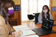 La consejera de Igualdad y portavoz del Gobierno regional, Blanca Fernández, ha inaugurado la jornada online 'Tú puedes darles voz'