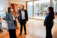 El Gobierno regional y la ONCE afianzan líneas de colaboración para ofrecer una respuesta educativa al alumnado con discapacidad visual en Castilla-La Mancha