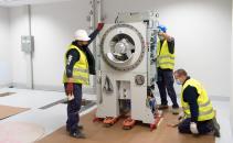El Hospital Universitario de Toledo comienza la instalación de los aceleradores lineales para el servicio de Oncología Radioterápica