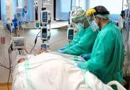 Los pacientes COVID ingresados en Unidades de Cuidados Intensivos alcanzan los niveles de mediados de septiembre